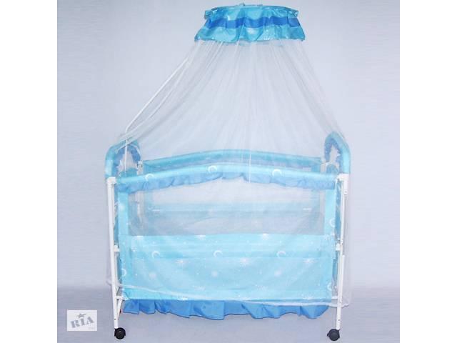 купить бу Кроватка 9139 качалка металлическая в Одессе