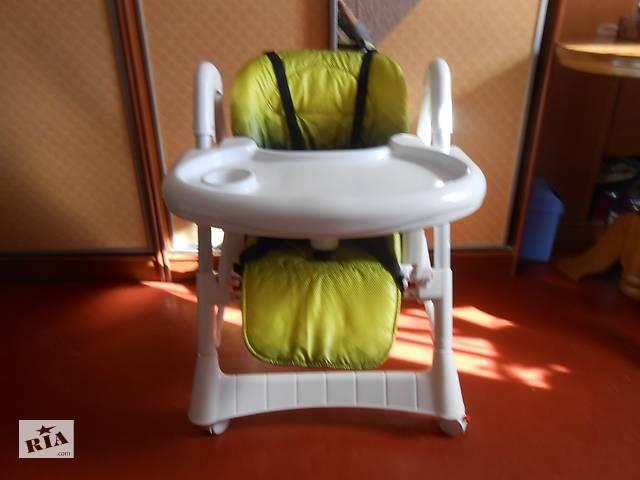 Продам детский стульчик для кормления б/у. Недорого. Дарницкий район.Киев.
