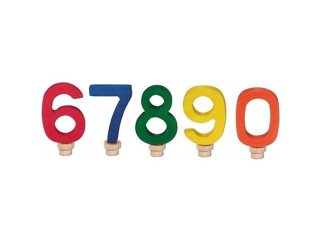бу Аксессуар для подсвечника Nic Набор цифр для торта 0-0 (NIC522956) в Киеве