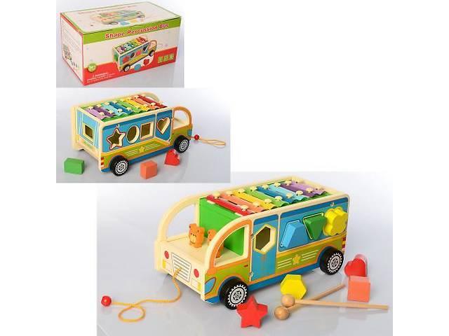 продам Деревянная игрушка-каталка, центр развивающий MD 2191 бу в Одессе