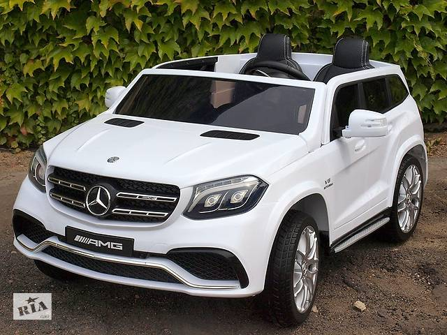 Дитячий електромобіль Mercedes AMG GLS63: двомісний, 2 акумулятора і 4 мотора- объявление о продаже  в Львові