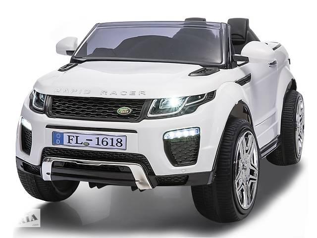 продам Дитячий електромобіль Range Rover HL1618: гум.колеса і амортизатори бу в Львові