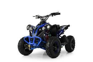 Электрический квадроцикл Profi HB-EATV1000Q-4ST(MP3) V2 черно-синий