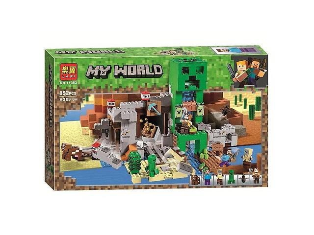 """продам Конструктор Bela 11363 """"Шахта Крипера"""" (аналог Lego Майнкрафт, Minecraft 21155), 852 деталей бу в Сумах"""