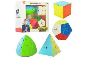 Набор головоломок кубик Рубика EQY528, 4 головоломки в наборе