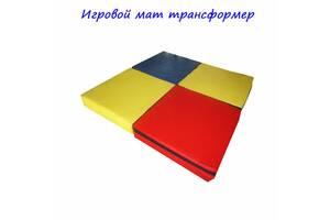 Мат игровой Трансформер 100-100-10 см TIA-SPORT