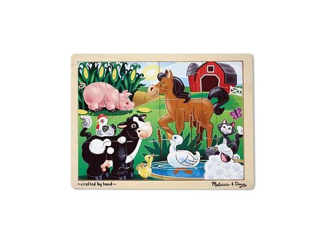 Пазл Melissa&Doug На ферме (MD2934)- объявление о продаже  в Дубно (Ровенской обл.)