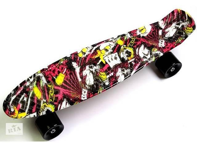 """Пенниборд (Penny Board) """"Deck""""- объявление о продаже  в Дубні"""