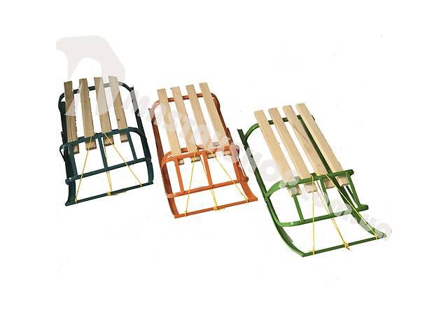 продам Санки детские 2 модели 3 цвета (веревка в комплекте) бу в Сумах