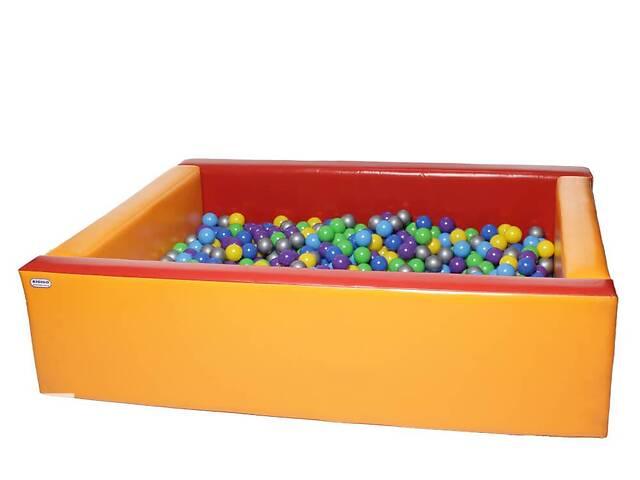 купить бу Сухой бассейн из мягких модулей KIDIGO Прямоугольник 2,0 х 1,5 м в Киеве