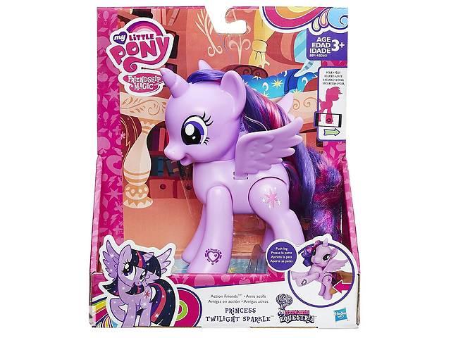 продам Сумеречная Искорка с подвижными крыльями 15СМ -Action Friend, My Little Pony, Hasbro бу в Дубно