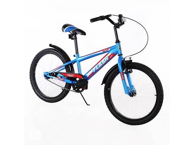 """продам Велосипед 2-х колёсный 20"""" TILLY FLASH T-22044 Blue бу в Дубно"""