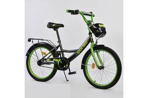 """Велосипед 20"""" дюймов 2-х колёсный G-20288 """"CORSO"""", ручной тормоз, звоночек, мягкое сидение"""