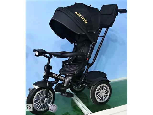Велосипед Baby Trike 3-х колёсный с надувными колёсами фарой 6188- объявление о продаже  в Дубно