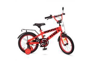 """Велосипед двухколесный Profi Flash 18"""" красный"""