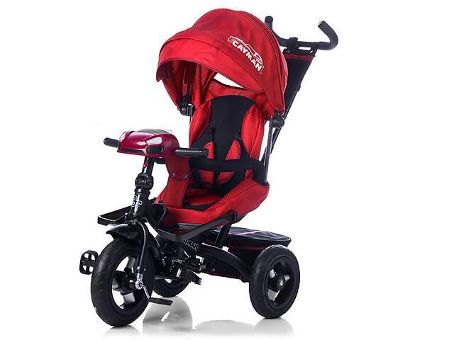 продам Велосипед трехколесный TILLY Cayman T-381 Красный с пультом и усиленной рамой бу в Одессе