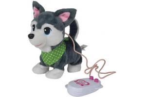 Интерактивная игрушка Simba Chi Chi Love Друзья щенки Серый 20 см (5893243)