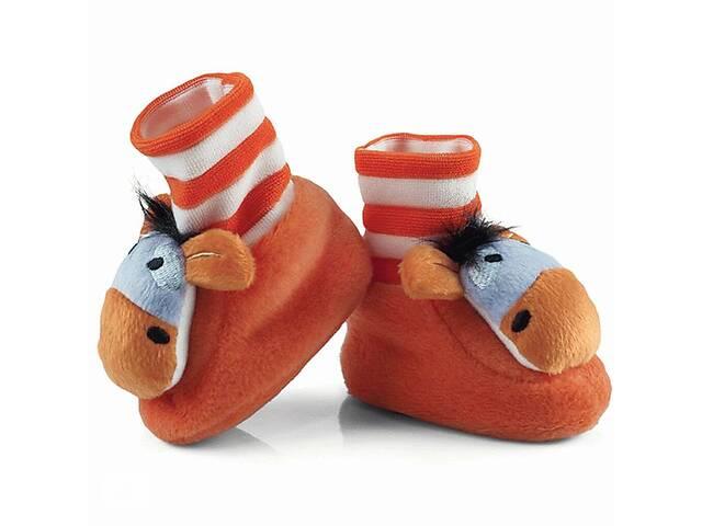 BABY CIAPKI Теплые Домашние тапочки для младенцев с апликацией животных- объявление о продаже  в Одесі