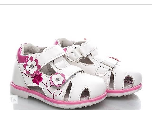 a68dc46e0aa84f Босоніжки BBT сандалі дитячі білі на дівчинку 21-26 розмір- объявление о  продаже в