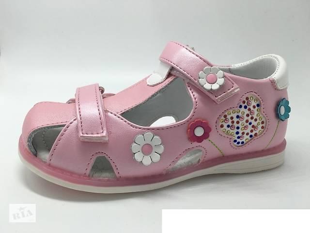 продам Босоножки детские кожаные на девочку Tom.m бу в Синельниково
