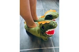 Детские домашние тапочки Динозавр SKL32-189992