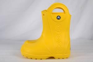 Новые Детские резиновые сапоги Crocs