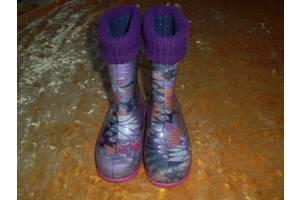 б/в Дитячі гумові чобітки Demar