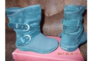 б/у Детские зимние сапоги Crocs