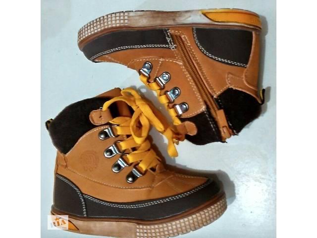 продам Зимние ботиночки на овечьей шерсти 22 размер. бу в Краматорске