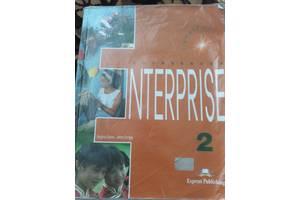 Англійська Оксфорд Enterprise 2+ зошит у подарурок оригінал.Дзвоніть!