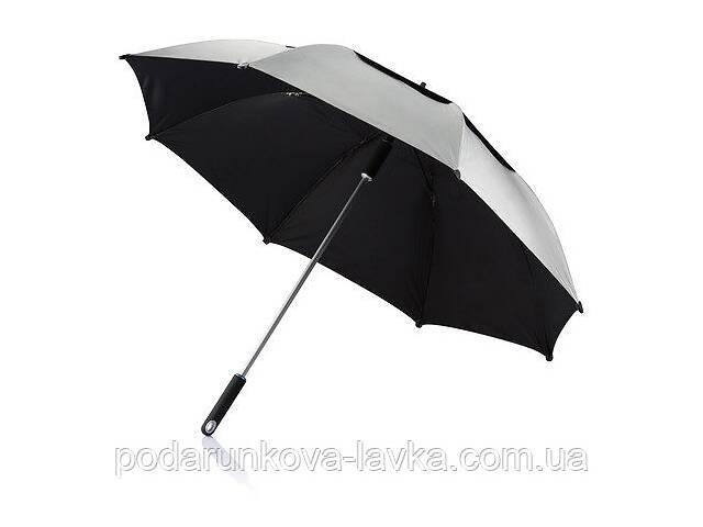 продам Антиштормовой зонт-трость Ураган, серый бу в Киеве