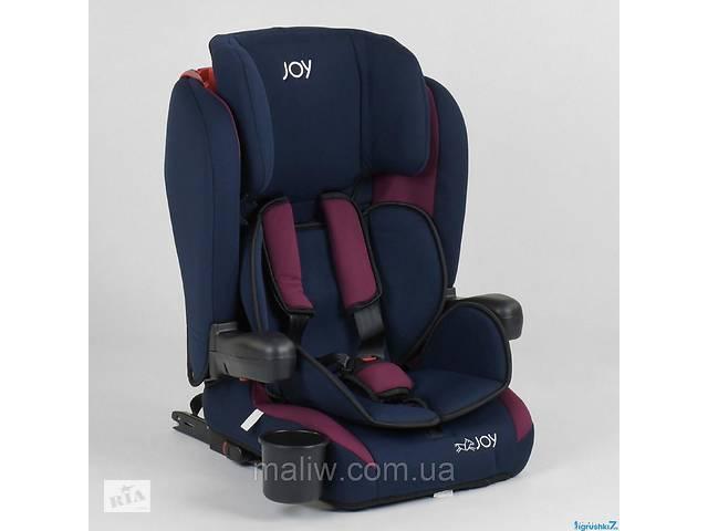 Автокресло детское Joy 72583 система ISOFIX сине-малиновое- объявление о продаже   в Украине