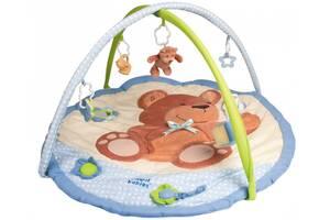 Б/В Розвиваючий килимок для дітей з дугами Canpol Babies Ведмедик (2/265)
