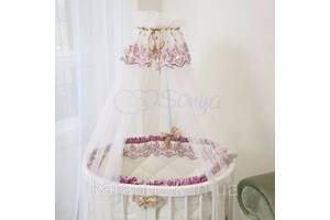 Балдахин Ricci розовый