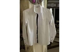 Белая рубашка GeeJay Boys на мальчика 9-12 лет