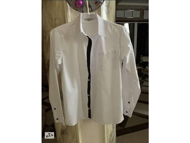 продам Белая рубашка GeeJay Boys на мальчика 9-12 лет бу в Одессе