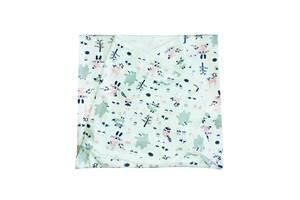 Безразмерная пеленка кокон на липучках интерлок Luna Style 0-24 мес Лесные друзь