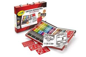 Crayola набор для творчества 62 предмета Virtual Design Pro-Cars Set