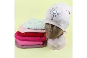 Демисезонные шапочки. Детские наборы с хомутом.
