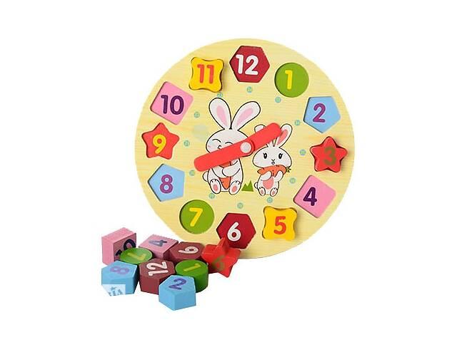 купить бу Деревянная игрушка Часы Руди Р01у-1 (tsi_55495) в Киеве