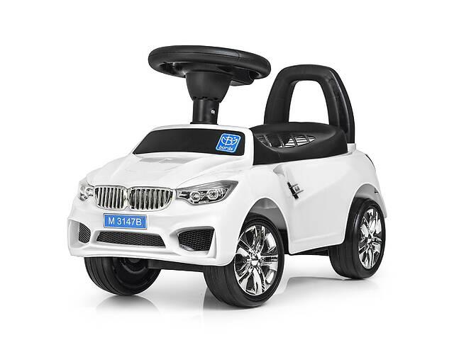 Детская каталка-толокар Bambi  M 3147B(MP3)-1 BMW белый ***- объявление о продаже  в Одессе