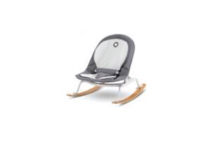 Детская кресло-качалка Lionelo ROSA GREY/WHITE
