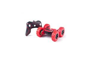 Детская машинка-перевертыш с дистанционным управлением HB, красная