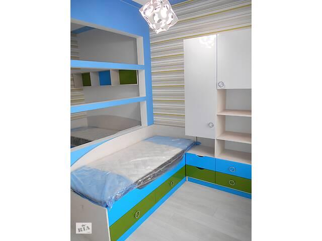 купить бу Детская мебель под заказ - детские кровати шкаф пенал полки стол в Одессе