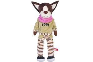 Детская мягкая игрушка гипоаллергенная Пёс Нико Fancy, 47 см