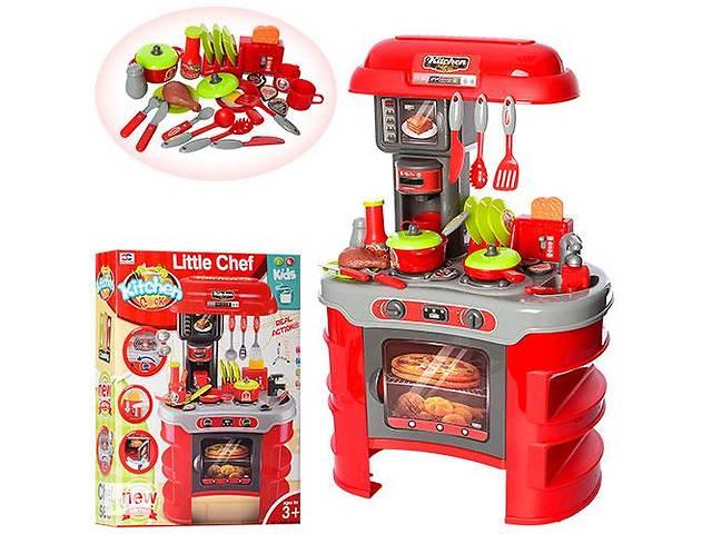 продам Детская интерактивная кухня Limo Toy с посудкой, красная бу в Киеве