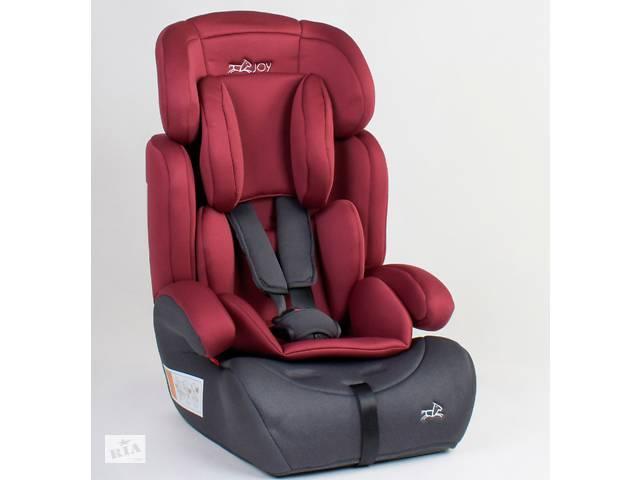 купить бу Детское автокресло JOY 76838 универсальное, группа 1/2/3, вес ребенка от 9-36 кг, красное в Одессе