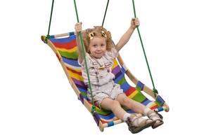 Детские подвесные качели - гамак SportBaby