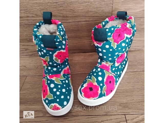 бу Детские зимние сапоги дутики Adidas Slip On S76120 в Львове