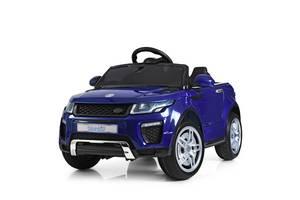 Детский электромобиль Land Rover M 3213EBLRS-4 синий автопокраска